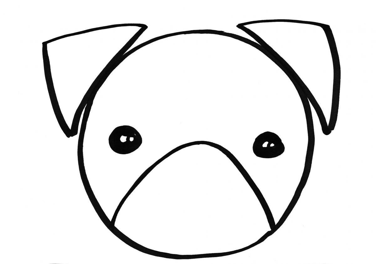 een hond tekenen